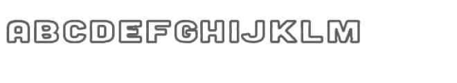 milk stout outline font Font LOWERCASE