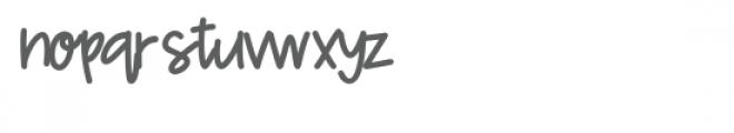 miss katy font Font LOWERCASE