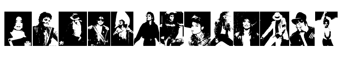 MJ The King of Pop Font LOWERCASE