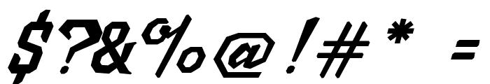 MJScriptoniteDemo Font OTHER CHARS