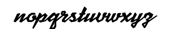 MJScriptoniteDemo Font LOWERCASE