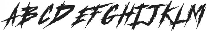 MKI Metal ttf (400) Font UPPERCASE