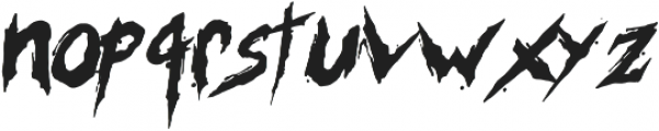 MKI Metal ttf (400) Font LOWERCASE