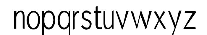 MKAbelRough random Font LOWERCASE