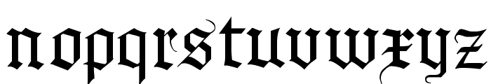 MKBrokenTypes Font LOWERCASE