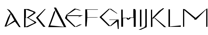 MKGreco-Bold Font UPPERCASE