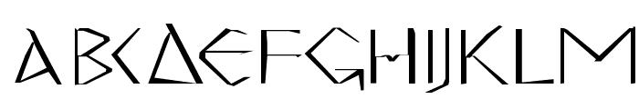 MKGreco-Bold Font LOWERCASE