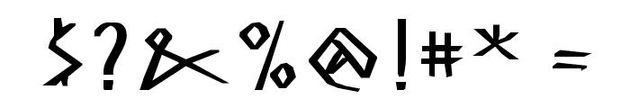 MKGreco-ExtraBold Font OTHER CHARS