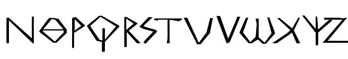 MKGreco-ExtraBold Font LOWERCASE