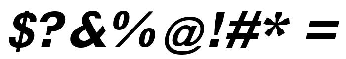 MKLatin-BoldOblique Font OTHER CHARS