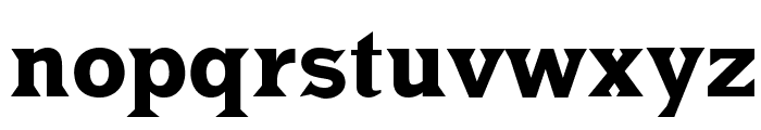 MKLatin-Bold Font LOWERCASE