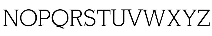 MKLatinLight Font UPPERCASE