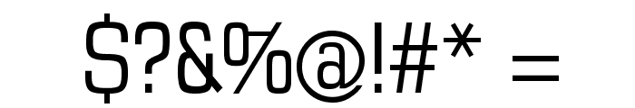 MKSansTallX Font OTHER CHARS
