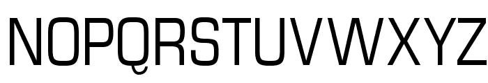 MKSansTallX Font UPPERCASE