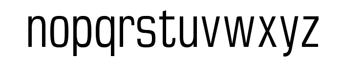 MKSansTallX Font LOWERCASE
