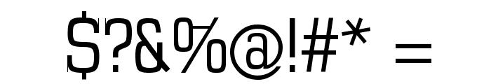MKSerifTallX Font OTHER CHARS
