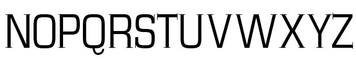 MKSerifTallX Font UPPERCASE