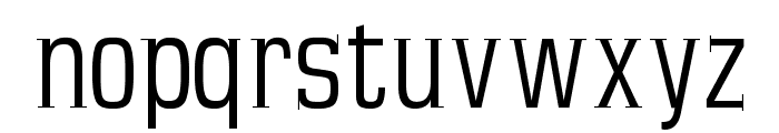 MKSerifTallX Font LOWERCASE