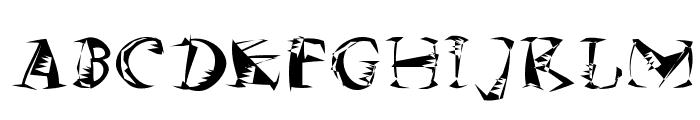 MKSzene Font LOWERCASE