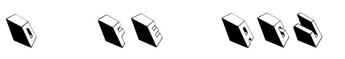 MKTypobricksRough Font OTHER CHARS