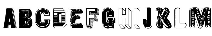 MKapsMixed Font LOWERCASE