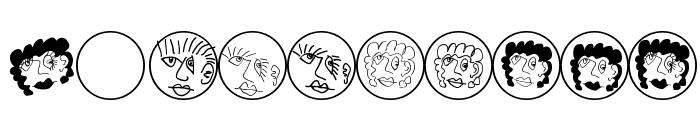 MKartoonHeads Font OTHER CHARS