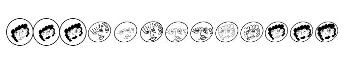 MKartoonHeads Font LOWERCASE