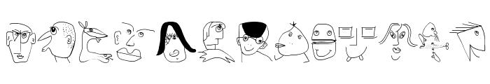 MKartoonsB Font UPPERCASE