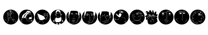 MKartoonsB Font LOWERCASE