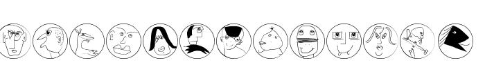 MKartoons Font LOWERCASE