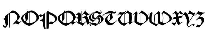 MKaslonTextura Font UPPERCASE