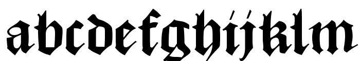 MKaslonTextura Font LOWERCASE