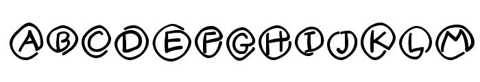 MKlammerAffen-Medium Font UPPERCASE