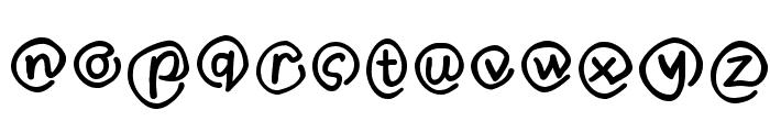 MKlammerAffen-Medium Font LOWERCASE