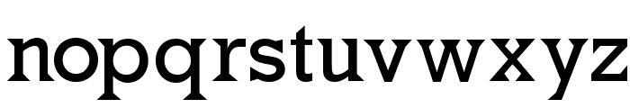 MkLatinoPlain Font LOWERCASE