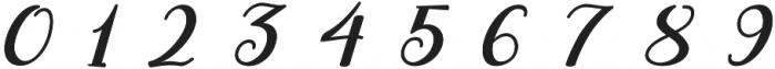 ML Fortune Slant otf (400) Font OTHER CHARS