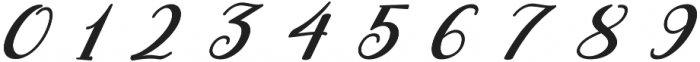 ML Fortune Super Slant otf (400) Font OTHER CHARS