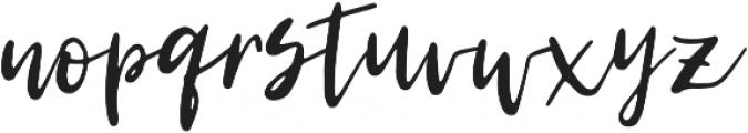 ML Tasty morsel otf (400) Font LOWERCASE