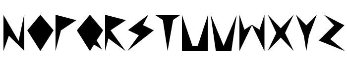 MND Pinballer Fill 1 Font LOWERCASE