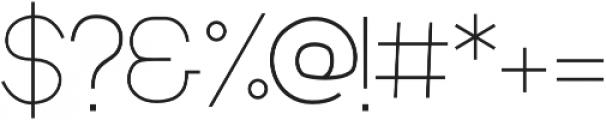 MOAM91 otf (300) Font OTHER CHARS