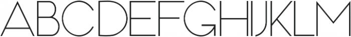 MOAM91 otf (300) Font UPPERCASE