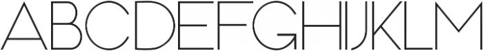MOAM91 otf (300) Font LOWERCASE