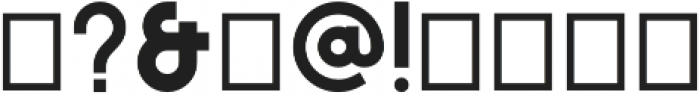 MONO otf (400) Font OTHER CHARS