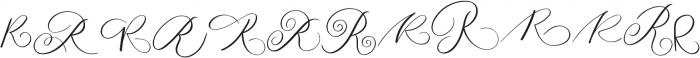 MONOGRAM R otf (400) Font UPPERCASE
