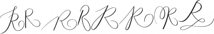MONOGRAM R otf (400) Font LOWERCASE