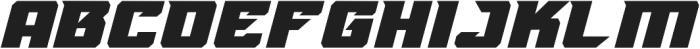 MONSTER TRUCK Regular ttf (400) Font LOWERCASE