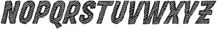 MOVSKATE Deck Italic otf (400) Font UPPERCASE
