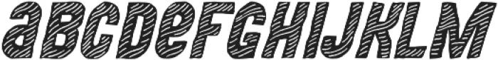 MOVSKATE Deck Italic otf (400) Font LOWERCASE