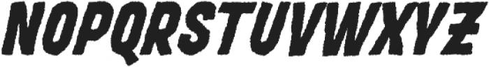MOVSKATE Grip Italic otf (400) Font UPPERCASE