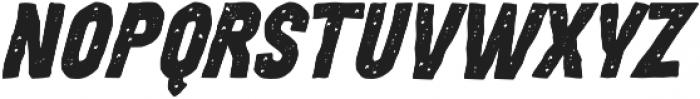 MOVSKATE Hardgrip Italic otf (400) Font LOWERCASE